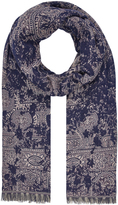 Accessorize Kew Floral Paisley Scarf