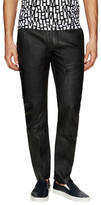 Helmut Lang Leather Racing Jeans