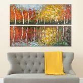 Safavieh 2-piece Autumn Fantasy Diptych Wall Art Set