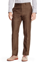 Tommy Hilfiger Brown Sharkskin Suit Pant