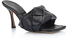 Bottega Veneta Women's Woven Leather High-Heel Sandals