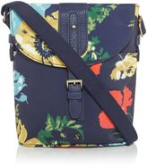 Joules Printed Canvas Cross Body Bag
