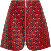 Isabel Marant Heina Printed Mini Skirt