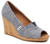 Toms Classic Wedge Pump