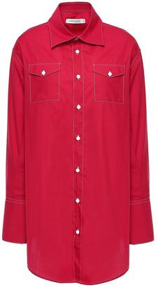 ANNA QUAN Ralph Cotton-poplin Shirt