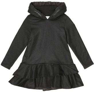 Moncler Enfant Stretch-cotton hoodie dress