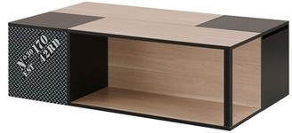 Latitude Run Dichiera Floor Shelf Coffee Table with Storage