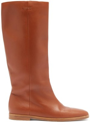 Gabriela Hearst Skye Leather Knee-high Boots - Tan
