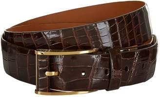Zilli Crocodile Skin Belt