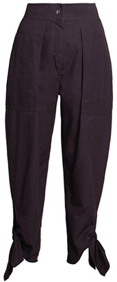 Isabel Marant Gaviao Carioca Cotton Trousers
