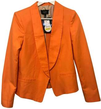 MANGO \N Orange Cotton Jacket for Women