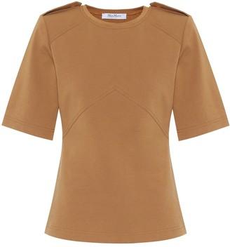 Max Mara Parole cotton-jersey T-shirt