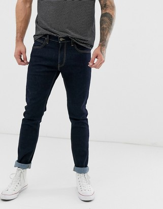 Lee Luke slim tapered fit jeans in blue rinse wash