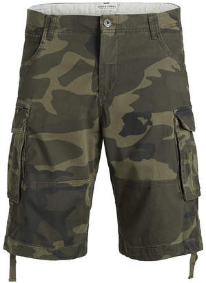 Jack and Jones Men Chop Akm 647 Cargo Shorts