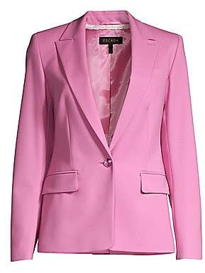 Escada Women's Begastun Wool Single Button Blazer