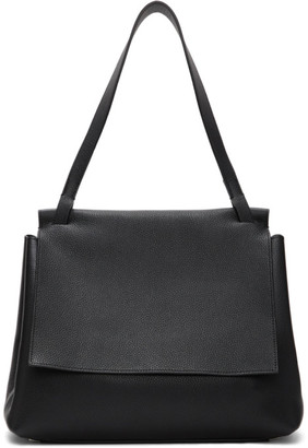 The Row Black Sidekick Two Top Handle Bag