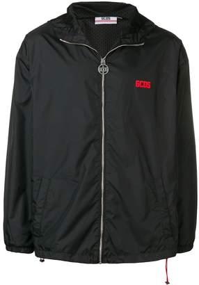 GCDS logo print sports jacket