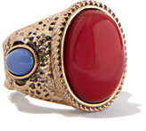 New York & Co. Textured Cabochon Ring