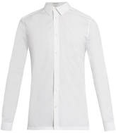 Balenciaga Point Collar Stretch-poplin Shirt