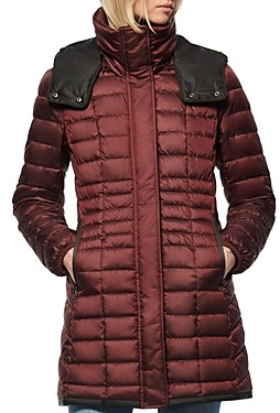 Andrew Marc Marble Puffer Coat