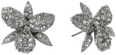 Nina Pave Small Orchid Earrings Earring