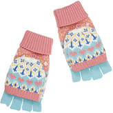 John Lewis Children's Pretty Fair Isle Flip Gloves, Multi