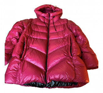 Woolrich Pink Synthetic Coats