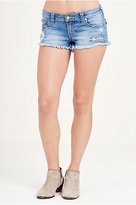True Religion Joey Cut Off Womens Shorts
