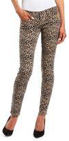 Charlotte Russe Cheetah Print Skinny Jean