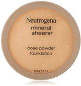 Neutrogena Mineral Sheers Loose Powder, Soft Beige, 0.19 Ounce
