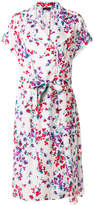 Emporio Armani floral watercolour print dress