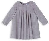Jacadi Girls' Polka Dot Velour Dress - Sizes 6-18 Months