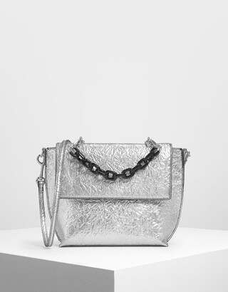 Charles & Keith Single Chain Handle Bag