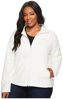 Columbia Plus Size Fast Trektm II Full Zip Fleece Jacket (Sea Salt) Women's Coat
