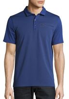 Calvin Klein Tonal Colorblock Polo Shirt