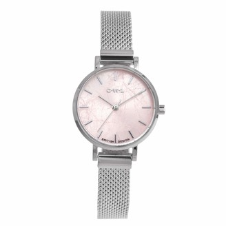 OWL Women's Analogue Japanese Quartz Watch with Stainless Steel Strap A10MSRQ