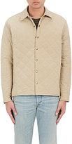 Simon Miller Men's Ladoga Diamond-Quilted Cotton Canvas Jacket-BEIGE, NUDE