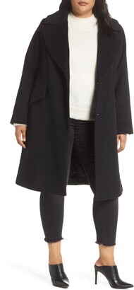 Rachel Roy Wool Blend Coat