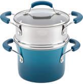 Rachael Ray Nonstick 3-Qt. Saucepot and Steamer Set