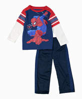 Children's Apparel Network Spider-Man Layered Tee & Sweatpants - Toddler & Boys