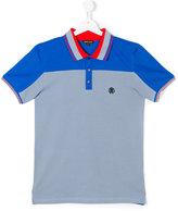 Roberto Cavalli Teen colour block polo shirt