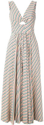 Eva Boquinhas striped dress