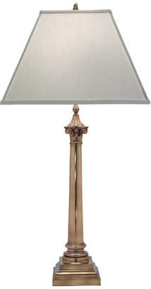 Stiffel   Lite Tops Stiffel Aged Brass Table Lamp