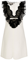Giambattista Valli Sleeveless Ruffle Dress