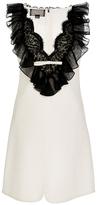 Giambattista Valli Sleeveless Ruffle Dress