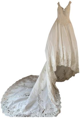 Italia Independent White Silk Dress for Women