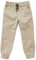 First Wave Little Boys 2T-7 Twill Jogger Pants