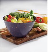 Rachael Ray Garbage Bowl with Rubber Base in Purple