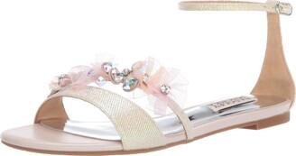 Badgley Mischka Women's Candace Flat Sandal