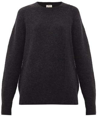 Acne Studios Kerna Brushed Sweater - Black